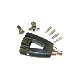Multi Key for chimney doors and flue gas tubes