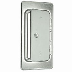 Upmann Chimney door K 14/4 galvanised with square lock...