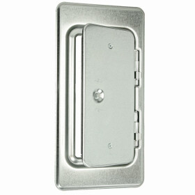 Upmann Chimney door K 29/4 galvanised with square lock...