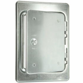 Upmann Chimney door K 14/4 stainless steel V2A with...