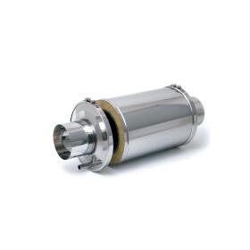 Flue gas silencer type AGM 580/80