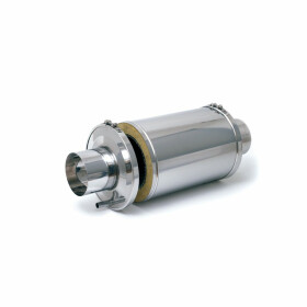 Flue gas silencer type AGM 580/150