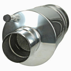 Flue gas silencer type AGS 130-500