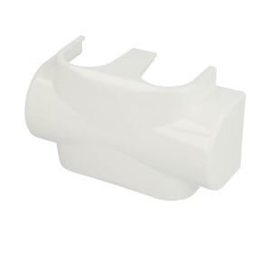 Heimeier Multilux cover made of plastic white 385010553