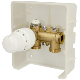 Simplex regulation box TH with outer thermostatic head,...