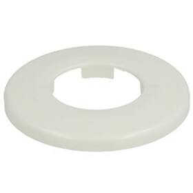 "Pipe collars Ø 22 mm white (DN 12-1/2"")..."