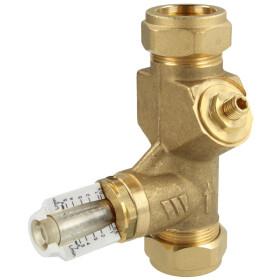 Watts Balancing valve WattFlow BP 0,5-7 l/min 10010146