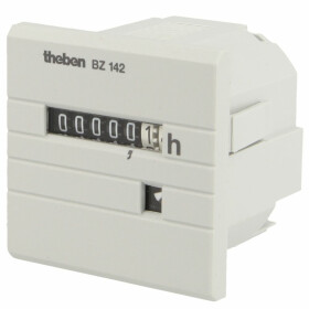 Theben elapsed time meter BZ 142-1 analogue, front panel,...