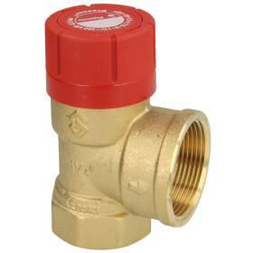"Safety valve for heating 1 1/4"" 2.5 bar"