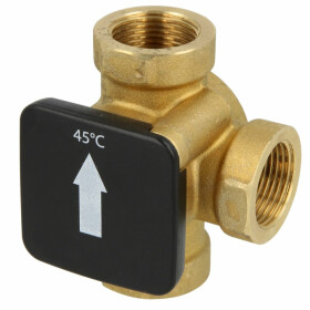"""Thermal load valve ¾"""" IT opening temperature..."""