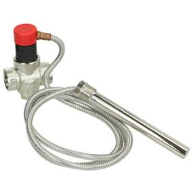 """Thermal drain valve 3/4"""" 97°C control temperature"""