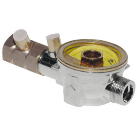 Subassembly housing for heat meters 110 mm