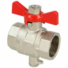 """Ball valve 3/4"""" IT direct measurement injection..."""