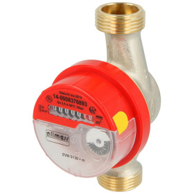 """Allmess SM water meter for hot water 1"""" EVW 5/130-V..."""
