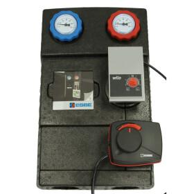 ESBE Heating circuit set mixed circuit actuator with Wilo...