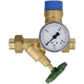 Afriso boiler safety group BSG DN 15