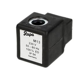 solenoid spool Rapa M 13 Rapa 230 V 50 Hz