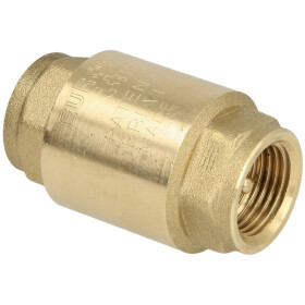 "Europa® check valve 3/8"" IT both ends"