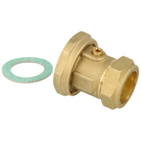 Watts Pump connection with ball valve union nut 1...