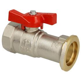 "ball valve Meibes-flange 1"" x IT 1"""