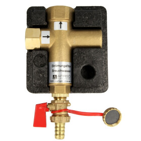 Afriso flow filter for non-potable water