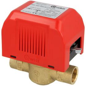"""2-way motor valve 1/2"""" i-i, w/o limit switch, 220 V"""