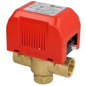 "3-way motor valve ¾"" i-i, with limit switch,..."