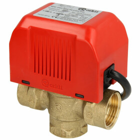 "3-way motor valve 1"" i-i, with limit switch, 220 V"