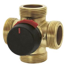 "ESBE Mixing valve 4 way 1 1/2"" ET DN 32 brass 11641200"