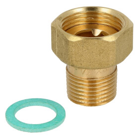 """Connection fitting with threaded sleeve 1"""" ET x..."""