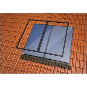 Single-sheet in-roof basic set 4plus slate 2 vertical...
