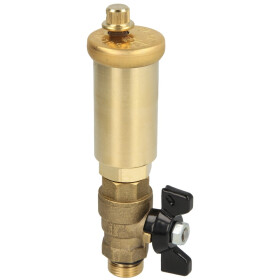 Afriso automatic air vent with valve for solar installations