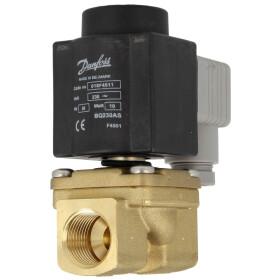 solenoid valve EV 225 B 15 P, 1/2 Danfoss, 032U300584