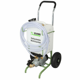 Mobile solar check center P 80 Trolley with pump, tank...
