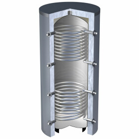 OEG buffer storage tank 800 litres with 2 smooth-pipe...