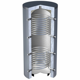 OEG buffer storage tank 5,000 litres with 2 smooth-pipe...