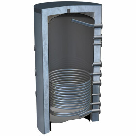 OEG buffer storage tank 5,000 litres with 1 smooth-pipe...