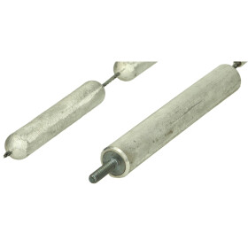 Magnesium chain anode for insulated installation
