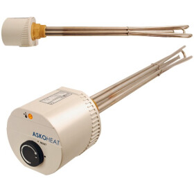 "Askoma Screw-in heater AHR-B-S 2.0 kW G 1½"""