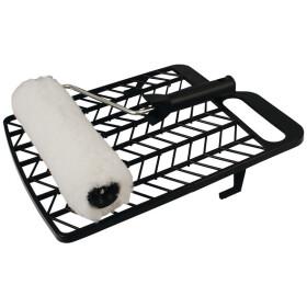 Paint roller set 25 cm black handle