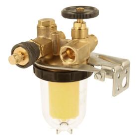 Oventrop Heizöl Einstrangfilter mit Rücklauf-...