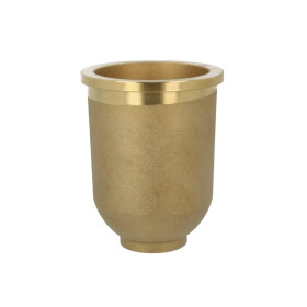 Afriso oil filter cup, brass for pressure operation, PN 16