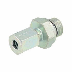Male stud coupling 1/8 x 4 mm with cylindrical thread