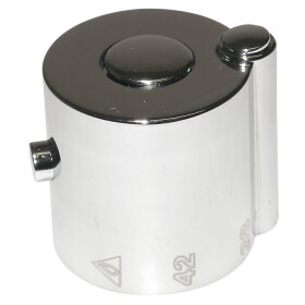 Temperature selector chrome-plated for Rondo series