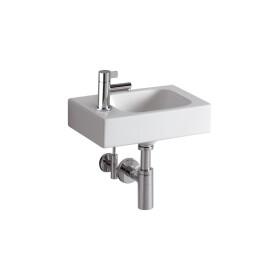 Keramag iCon hand washbasin 380 x 280 mm left, no overflow