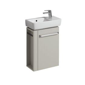 Keramag Renova Nr.1 Comprimo washbasin vanity unit, left