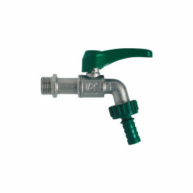 """Ball valve with rotatable hose connection 1/2"""""""