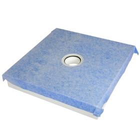 Schedel Multistar Plan shower element 800 x 800 mm, drain...