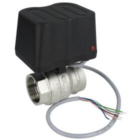 """Motor ball valve, DN 25-1 1/4"""", 230 V 10 Nm,..."""