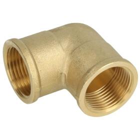 "Elbow 90° IT/IT 3/8"" brass bright"